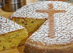 Greek Cake, Greek Recipes, Bread Baking, Dessert Recipes, Food And Drink, Cooking, Sweet, Diabetes, Food Cakes