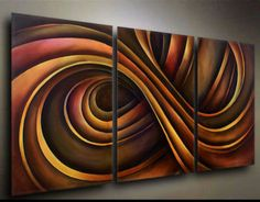 Modern abstract on canvas.