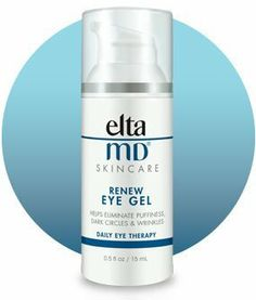 EltaMD Renew Eye Gel by Elta MD. . EltaMD Renew Eye Gelis formulated with a fusion of innovative peptides, extracts, vitamins and other anti-aging ingredients. This unique blend of elements penetrates the skin to diminish and eliminate dark circles, fine lines and wrinkles, and puffiness. Renew also improves skin quality and brightness for a healthier, more even skin tone and youthful appearance.  Renews advanced formula harmonizes an array of complex, anti-aging ingredien...