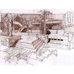 #architecturestudent #architexture #architect #archdaily #architectural #architecturesketch #architectlover #arquitetura #arquitectura #architekture #prismacolor #interiordesign #superarchitects #revistaaec #design #drawing #arch_sketch #maquete #archilovers #copic #moleskin #arch_more #arquitetapage #arqsketch #archisketcher #iarchitectures #arc_only #vernacular Grid Architecture, Architecture Student, Architecture Drawings, Exterior House Siding, Building Facade, Building Ideas, Perspective Sketch, Rustic Exterior, Modern Ranch
