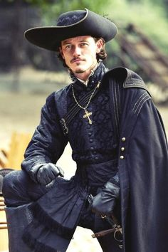 my Lord Montgomery, is that you? Time will tell .... -------------------------------------------------- Luke Evans as Aramis in The Three Musketeers, 2011.