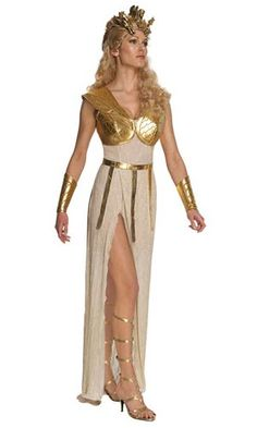 This is the Clash of the Titans - Sexy Athena Adult Costume - Small at a cheap price. This costume which is 'Clash of the Titans - Sexy Athena Adult Costume . Adult Costumes, Costumes For Women, Greek Costumes, Athena Costume, Greek Goddess Costume, Clash Of The Titans, Athena Goddess, Costume Dress, Chiffon Dress
