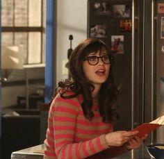 "Jess's Madewell Bateau Button Sweater in Stripe New Girl Season 2, Episode 22: ""Bachelorette Party"""