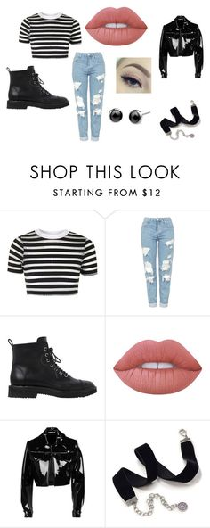 """""""Untitled #143"""" by janaebb on Polyvore featuring Topshop, Giuseppe Zanotti, Lime Crime, Emilia Wickstead and Sweet Romance"""