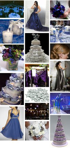 Midnight Star Wedding Theme