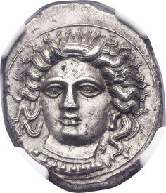Ancients:Greek, CILICIA. Tarsus. Pharnabazus, as Satrap (380-374/3 BC). AR... Image #1