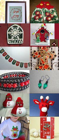 Sleigh Bells Ring, Are You Listening by Cynthia Fardan on Etsy