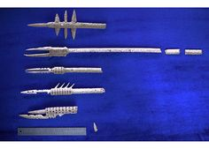 Mermaids: The Evidence: Animal Planet - handmade spears etc, found in deep sea creatures