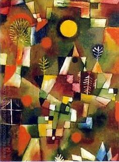 Hand painted reproduction of Der Volland 1919. This masterpiece was painted originally by Paul Klee. Museum quality handmade oil painting reproduction oil painting on canvas. Buy Now!.