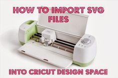 [Video]Import SVG into Cricut Design Space Explore