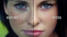 Professional Portrait Skin Retouching in Photoshop cs6 using retouching ...