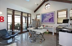 My houzz contemporain bureau salt lake city lucy call