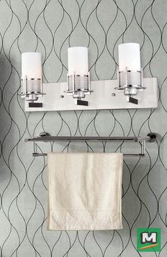 Patriot Lighting® Laszlo Vanity Light with a Satin Nickel Finish and Frosted Opal Glass Shades