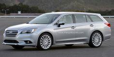 2015 Subaru Legacy Estate Tourer concept