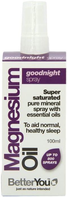 Better You Magnesium Oil Goodnight Spray 100ml: Amazon.es: Salud y cuidado personal