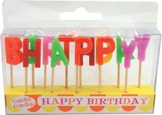 Party Partners Design Candid Candles: Happy Birthday, Multicolored Party Partners Design http://www.amazon.com/dp/B00D1I66FG/ref=cm_sw_r_pi_dp_JZOovb16KF1HG