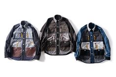 Junya Watanabe MAN x Seil Marschall Reversible Cotton Moleskin Paraffin Shirt Jacket Collection