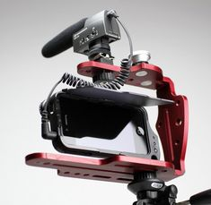 DiffCage Photography and Cinema Rig For iPhone 4/4S Review @Diffcase