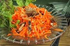 Rhonda's Sunshine Salad #vegan #recipes #veganrecipes,