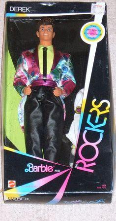 Barbie - Barbie & the Rockers Derek...yep, had this one too.