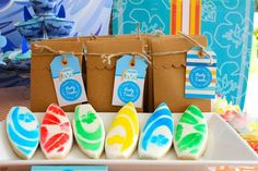 Fara Party Design: Fiestas- A Surfear Birthday Fun, Birthday Parties, Surf Cake, Margarita Party, Surf Shack, Luau Party, Summer Parties, Party Planning, Party Time