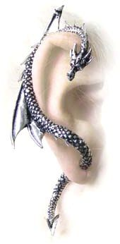 Wrapping Dragon Ear Cuff http://www.abaxion.com/tf410.htm