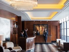The duo behind London's hottest new hotel, the Beaumont, are actually restaurateurs—and struck gold on their first foray into the hotel business.