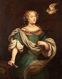 Louise de La Vallière comme Sainte Hélène the lost gallery