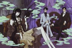 xxxholic ~~ Just look at the body language :: Doumeki, Watanuki, Yuuko