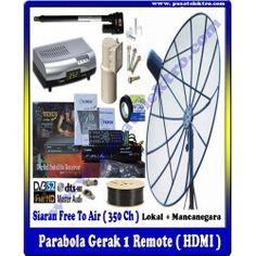 PARABOLA GERAK 1 REMOTE (HDMI)  Benefit & Keuntungan Yang Anda Dapatkan : - 1 Unit Dish 7 Feet Mesh - 1 Unit Reciever HDMI & LNBF Single - 1 Unit Actuator/Positioner ( Automatic ) - 10 Meter Kabel 5C-75 Ohm - 1 Unit Tiang Triport - Siaran Bebas Iuran (400 Channel) - Gratis Biaya Pemasangan - Garansi Barang 1 Tahun (Receiver)   Pesan & Pasang Sekarang Juga...!!!  Pusat Elektro Phone : (021)  560 5533 Mobile : 0812 8930 5533 W.A.    : 0859 5905 5000  Info Lengkap :http://www.pusatelektro.com