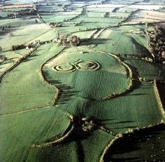 Hill of Tara, Ireland. One of the most ancient stretches of land in Europe with tombs and burial grounds dating back over 4,000 years.