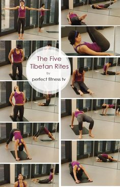 The 5 Tibetan Rites | A Quick Anti-Aging Workout