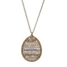 Pearl Panel Pendant - Necklaces - Shop