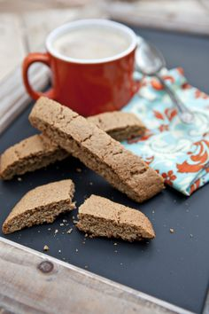 Biscoff Speculoos Biscotti from @Shaina Pagani Olmanson | Food for My Family