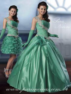 vestidos dois em um para debutantes simples - Pesquisa Google