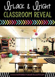 Black & Brights Classroom Reveal