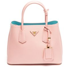 The Perfect Prada Bag For Ladies Who Lunch ❤ liked on Polyvore featuring bags, bolsas, borse and pink bags