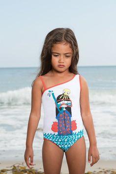 Little Tween Girls Swimwear Bikinis - Bing images Flounce Bikini Top, Kids Tie Dye, Girls One Piece Swimsuit, Little Marc Jacobs, Kids Suits, Cute Young Girl, Kids Swimwear, Swimwear 2014, Baby Couture