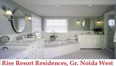 Rise Resort Residences is different residential from other projects to provide essential living at Noida Extension. The apartments are building with high end 3BHK and 4BHK villa to greater noida west.