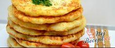 Kefírové placky se sýrem. Super náhrada pečiva ke snídani. Foodies, Pancakes, Menu, Healthy Recipes, Breakfast, Menu Board Design, Morning Coffee, Pancake, Healthy Eating Recipes