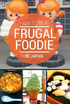 $1 sushi trains, ultra cheap bentos, and where to find fresh, frugal eats. Some great tips on eating cheap in Japan!