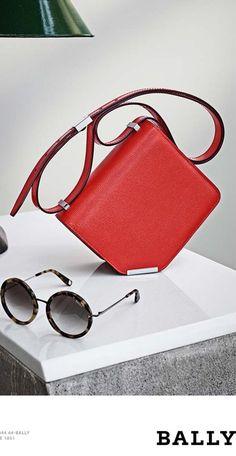 #Bally 2016 advertising  Designer bag and sunglasses  #Luxurydotcom - photographer -Maxime Poiblanc