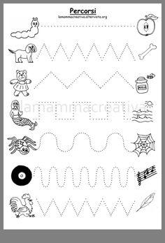Preschool Writing, Fall Preschool, Preschool Letters, Preschool Curriculum, Preschool Printables, Preschool Learning, Kindergarten Worksheets, Preschool Activities, Pre Writing