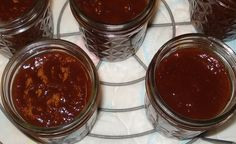 Just like A-1 Steak Sauce. More from Jane - Canning Steak Sauce! ~ Canning Homemade! Ketchup, onion, garlic, Worcestershire, lemon, vinegar, soy, brown sugar, yellow mustard