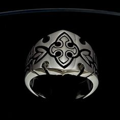 sterling silver rings with medieval designs marked 925