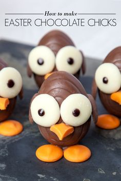Easter Chocolate Chicks - AO Life