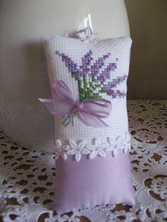 Passion Fruit Princess: Cross Stitch Lavender Sachet