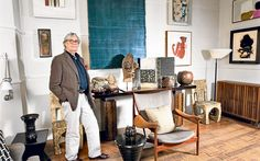 Interior designer Chester Jones shows us the treasures he's accumulated in his Battersea home