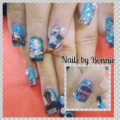 Nails New Year Photo Booth Nail art