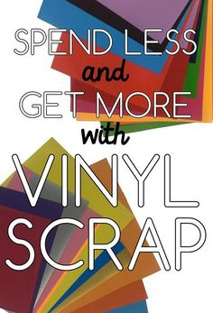 Our grab bags are scrap packs of vinyl for crafts that come with a variety of different sizes and colors. We have strong quality guarantees, so when something doesn't meet it we add it into a scrap pack and offer our customers huge savings. The grab bags are limited in quantity. We offer adhesive and heat transfer vinyl options. Shop today by the pound and save from #Craftables | Where to buy #AdhesiveVinyl + #HTV #HeatTransferVinyl